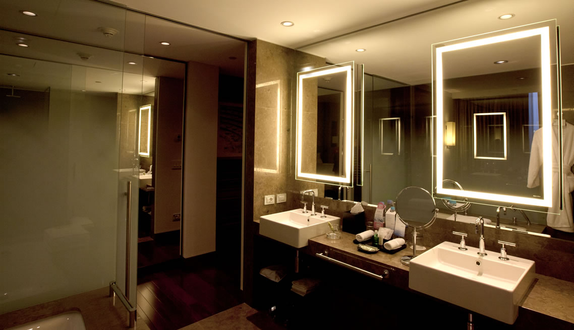Παράδειγμα εφαρμογής φωτισμού LED σε Ξενοδοχείο