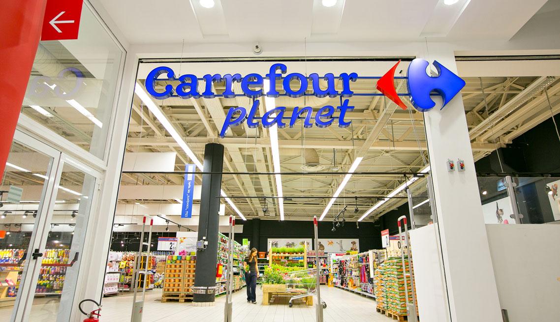 Carrefour Supermarket Globiled