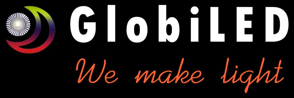 Λογότυπο GlobiLED (Μαύρο)